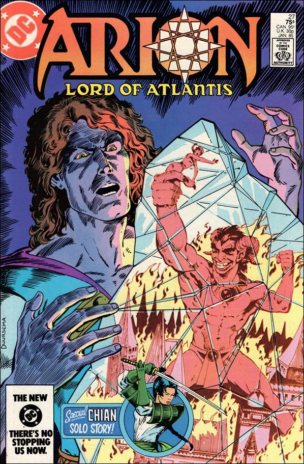 Arion, Lord of Atlantis 27-A by DC