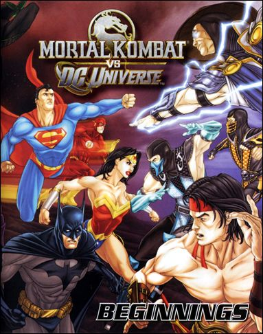Mortal Kombat vs DC Universe: Beginnings 1-A by DC