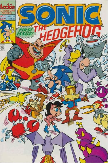 Sonic the Hedgehog (1993) 1-A by Archie