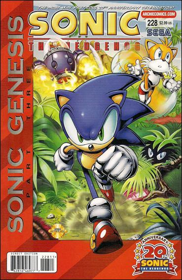 Sonic the Hedgehog (1993) 228-A by Archie
