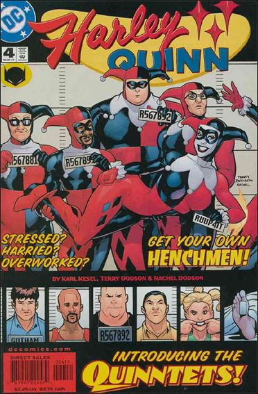 Harley Quinn (2000) 4-A by DC