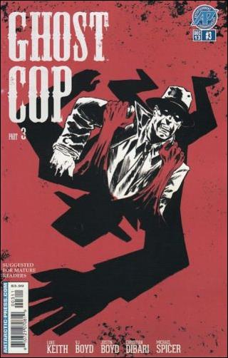 Ghost Cop 3-A by Antarctic Press