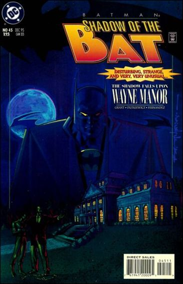 Batman: Shadow of the Bat 45-A by DC