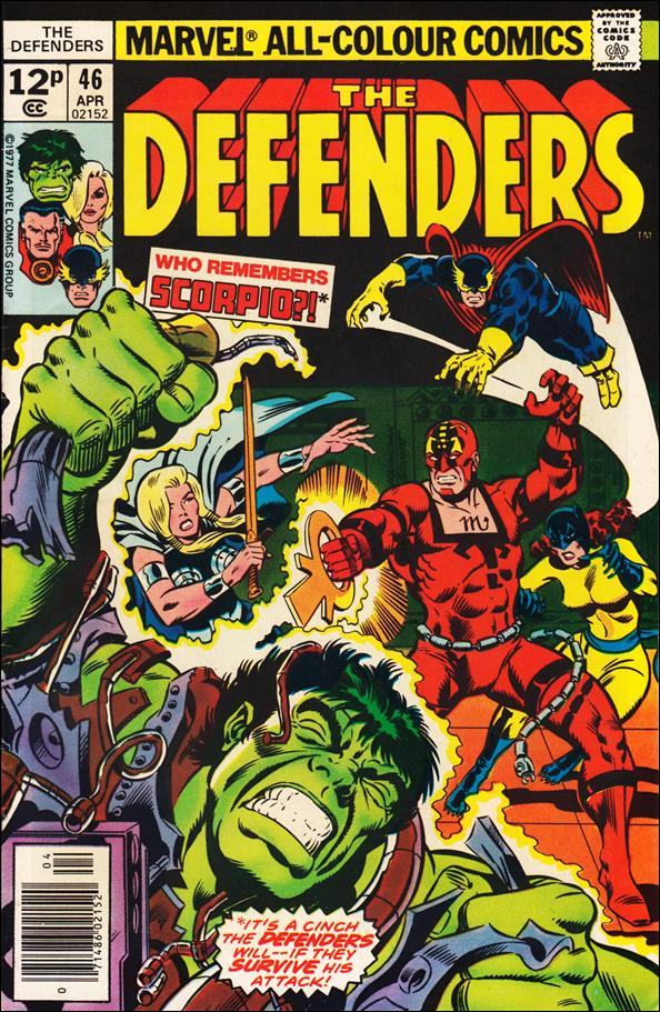 Defenders (1972) 46-B by Marvel