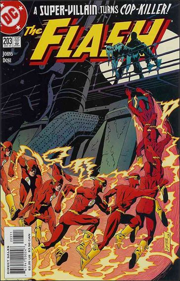 Flash (1987) 203-A by DC
