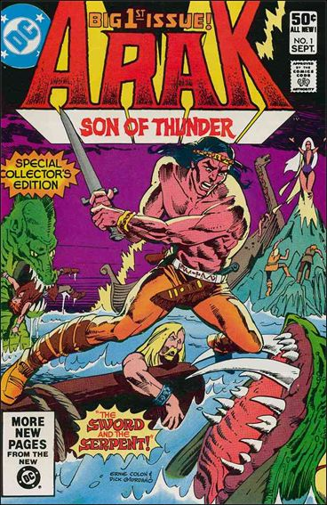 Arak Son of Thunder 1-A by DC