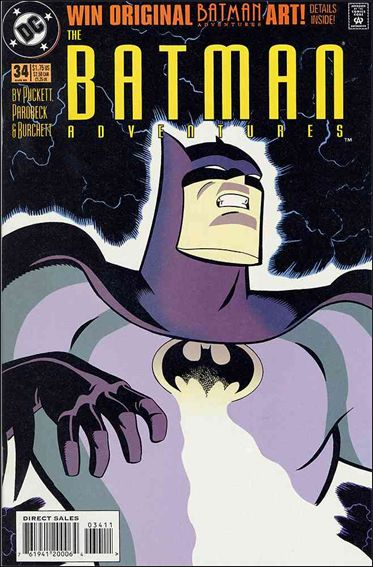Batman Adventures (1992) 34-A by DC