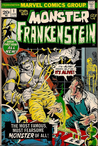 Frankenstein (1973) 1-A by Marvel