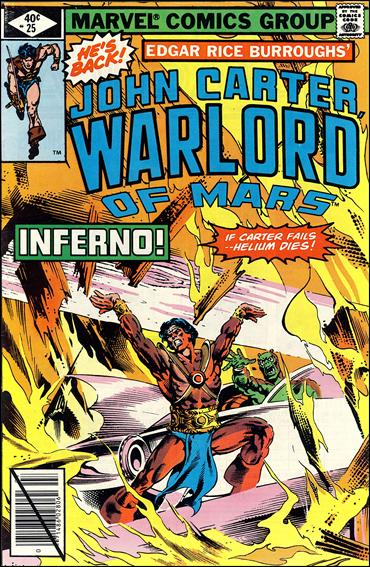 John Carter, Warlord of Mars 25-A by Marvel
