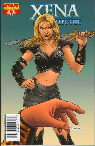 Xena (2006) 4-B by Dynamite Entertainment