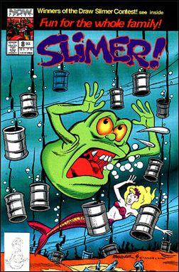 Slimer! 8-A by Now Comics