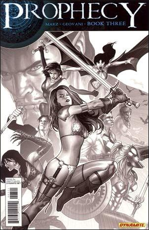 Prophecy 3-B by Dynamite Entertainment