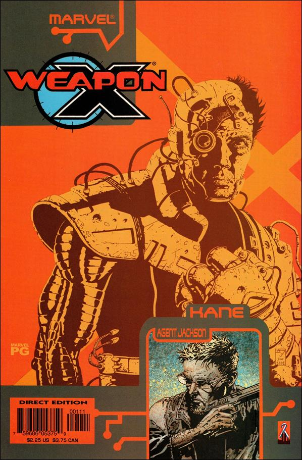 Weapon X: The Draft - Kane 1-A by Marvel