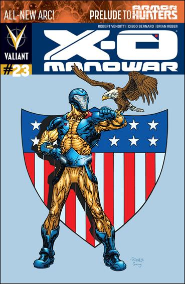X-O Manowar (2012)  23-B by Valiant Entertainment