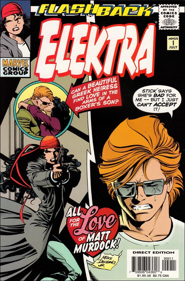 Elektra (1996) -1-A by Marvel