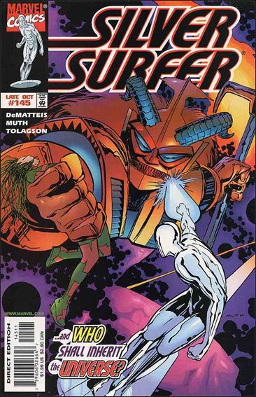 Silver Surfer (1987) 145-A by Marvel