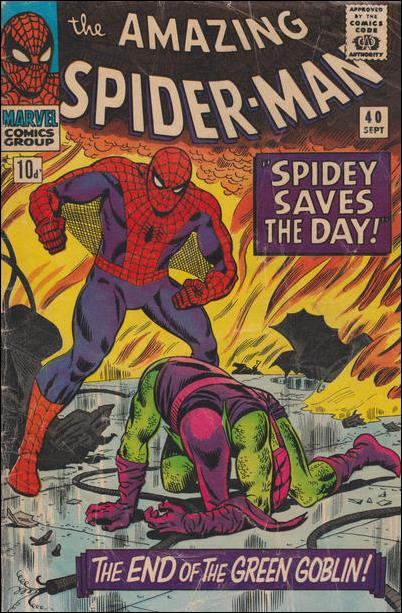 Amazing Spider-Man (1963) 40-B by Marvel