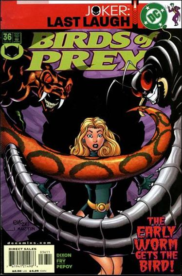 Birds of Prey (1999) 36-A by DC