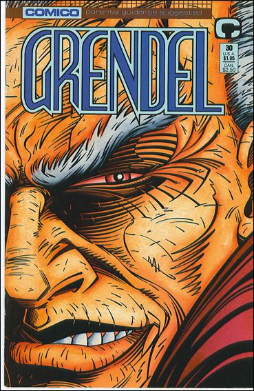 Grendel (1986) 30-A by Comico