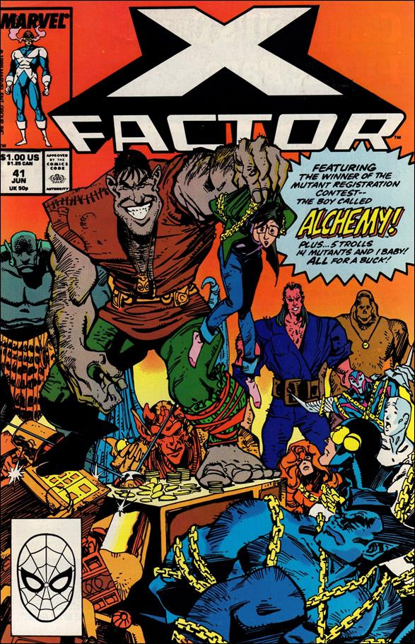 X-Factor (1986) 41-A by Marvel