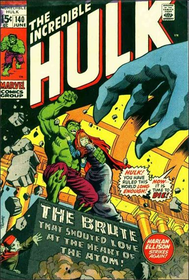 Incredible Hulk (1968) 140-A by Marvel
