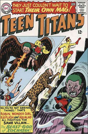 Teen Titans (1966) 1-A by DC