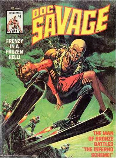 Doc Savage (1975) 3-A by Marvel