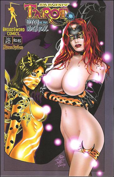 Tarot: Witch of the Black Rose 57-B by BroadSword Comics