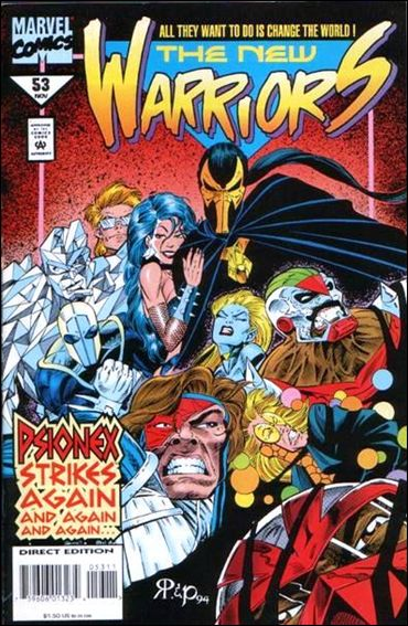 New Warriors (1990) 53-A by Marvel