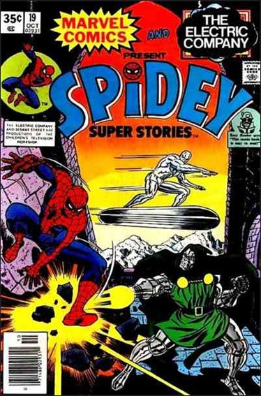 Spidey Super Stories 19-A by Marvel