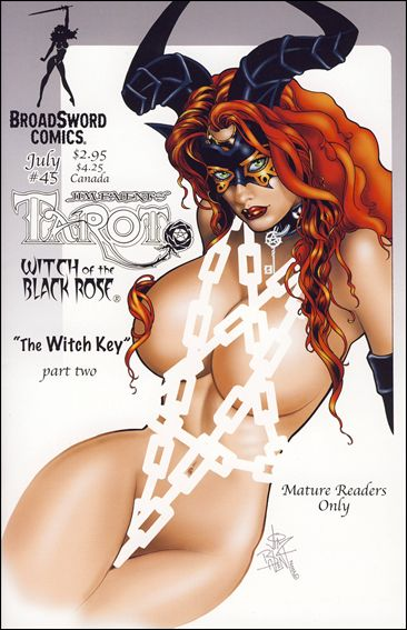 Tarot: Witch of the Black Rose 45-B by BroadSword Comics