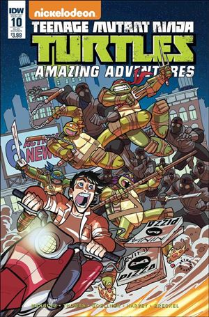Teenage Mutant Ninja Turtles Amazing Adventures 10-B