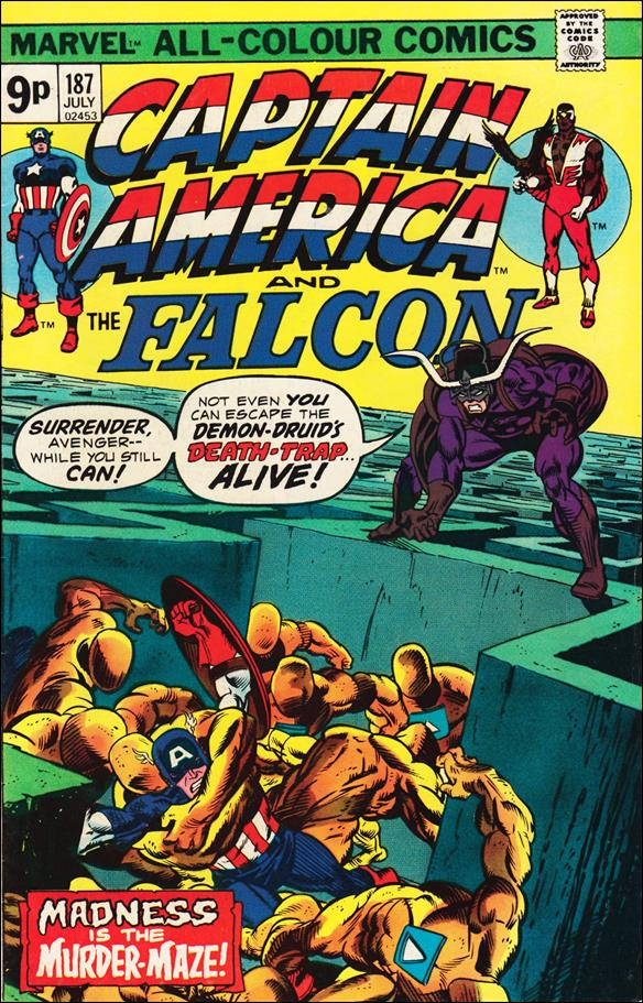 Captain America (1968) 187-B by Marvel