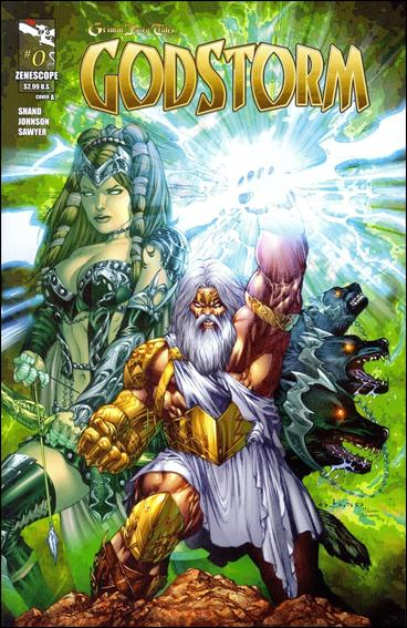 Grimm Fairy Tales Presents Godstorm 0-A by Zenescope Entertainment