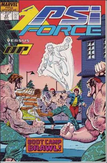 Psi-Force 23-A by Marvel