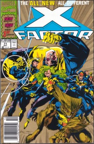 X-Factor (1986) 71-B by Marvel