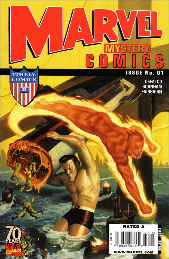 Marvel Mystery Comics 70th Anniversary Special 1-A by Marvel