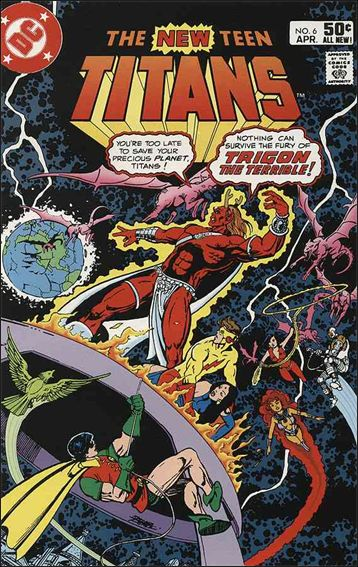 New Teen Titans (1980) 6-A by DC