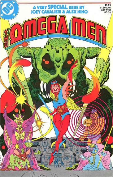 Omega Men (1983) 16-A by DC