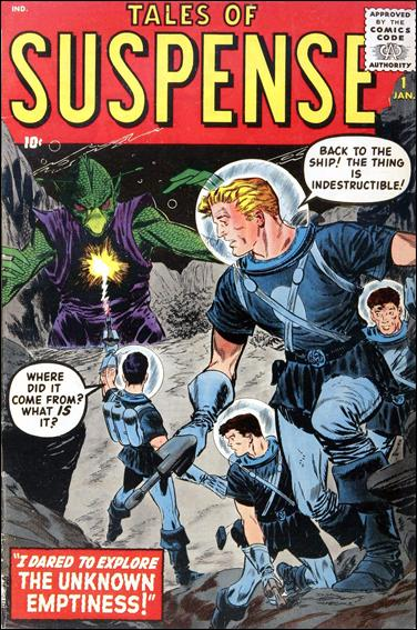 Tales of Suspense (1959) 1-A by Marvel