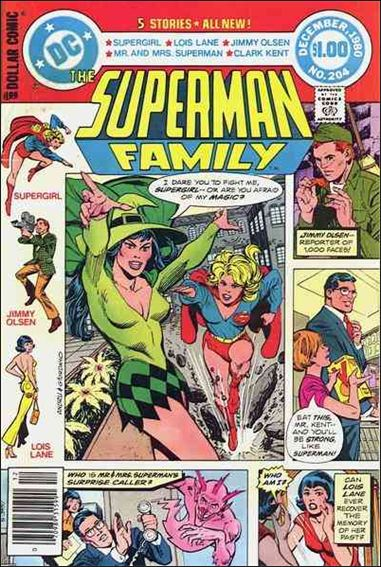 Superman Family 204-A by DC