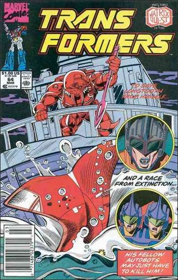 Transformers (1984) 64-A by Marvel