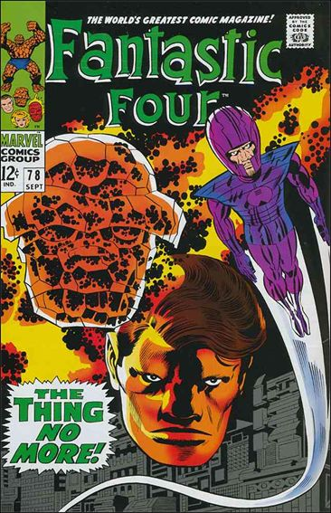 Fantastic Four (1961) 78-A by Marvel