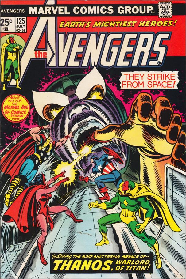Avengers (1963) 125-A by Marvel