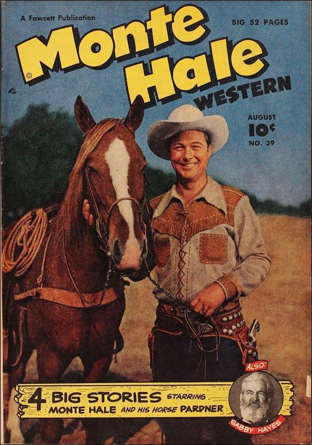 Monte Hale Western 39-A by Fawcett