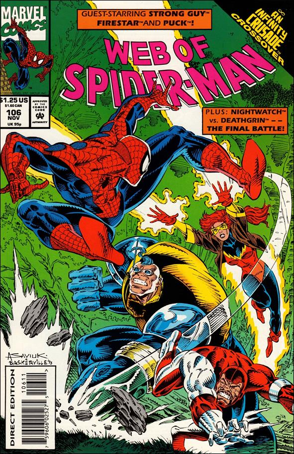 Web of Spider-Man (1985) 106-A by Marvel