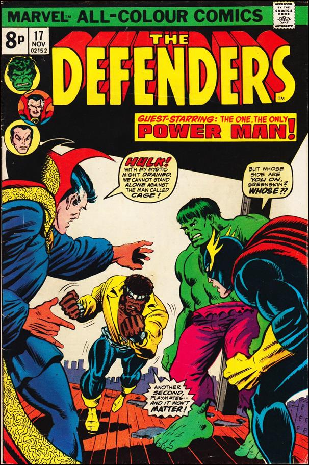 Defenders (1972) 17-B by Marvel