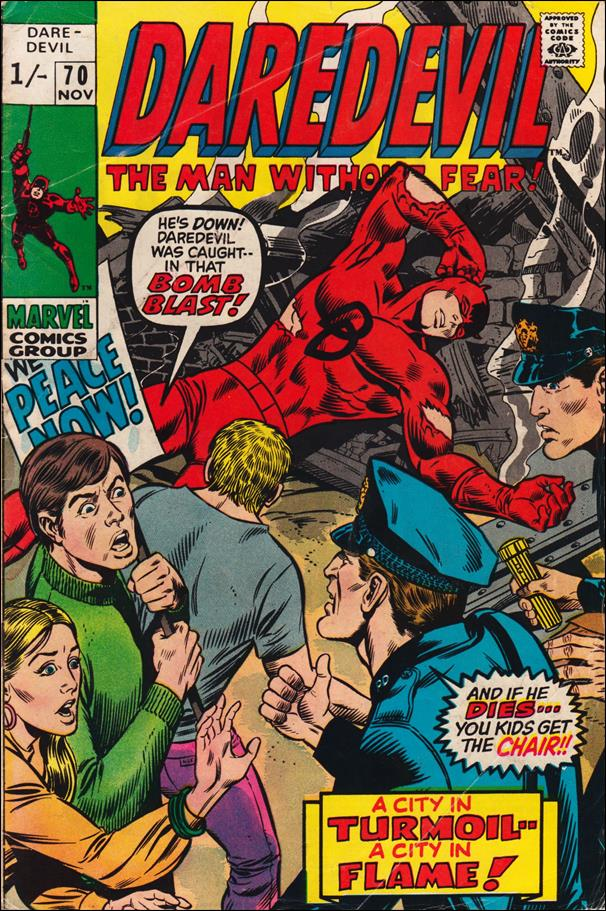 Daredevil (1964) 70-B by Marvel