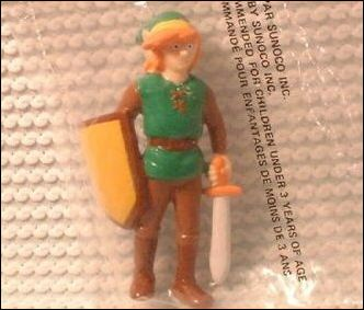 Nintendo Figurines Link (Sunoco Bag) by Applause