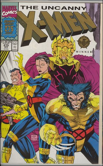 Uncanny X-Men (1981) 275-B by Marvel